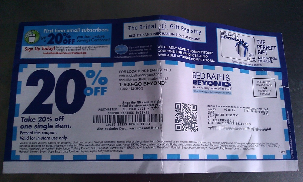Do Bed Bath And Beyond Take Expired Coupons