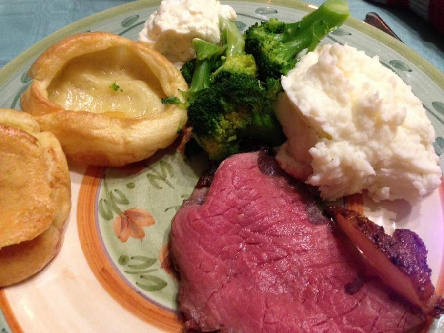 bison and yorkshire pudding